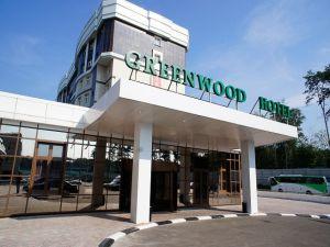 Зал GreenWood hotel