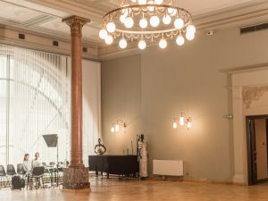 Музей Моды - зал для выст...